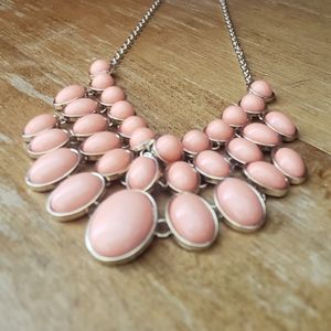 Pink Necklace And Earrings NWT